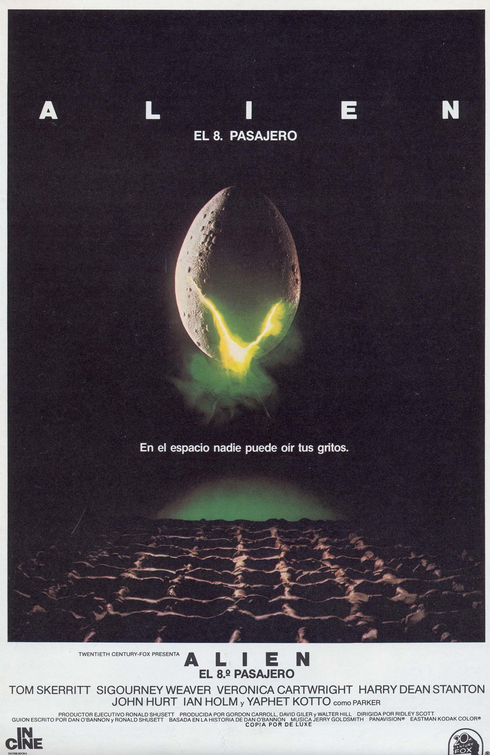 Alien - Cartel original de cine