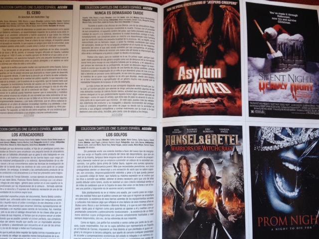 Las míticas fichas coleccionables de la revista Acción