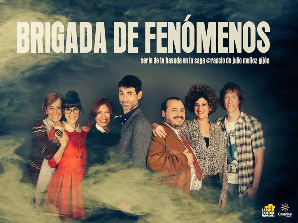 Brigada de fenómenos, una serie de TV basada en la saga de @rancio